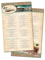 harrisons outdoor menu